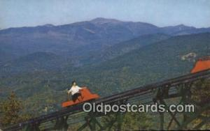 Mt Cranmore Skimobile, North Conway, New Hampshire, NH USA Winter Sports Post...