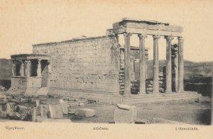 ATHENS , Greece , 1900-10s; L'Erechthee