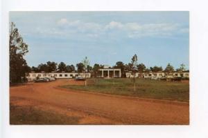 Kelake KY Motel Old Cars Postcard