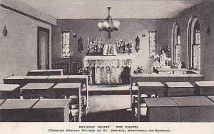 New York Maryknoll Bethany House The Chapel Albertype