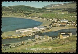 Fishing community of Trout River on Newfounland's West Coast