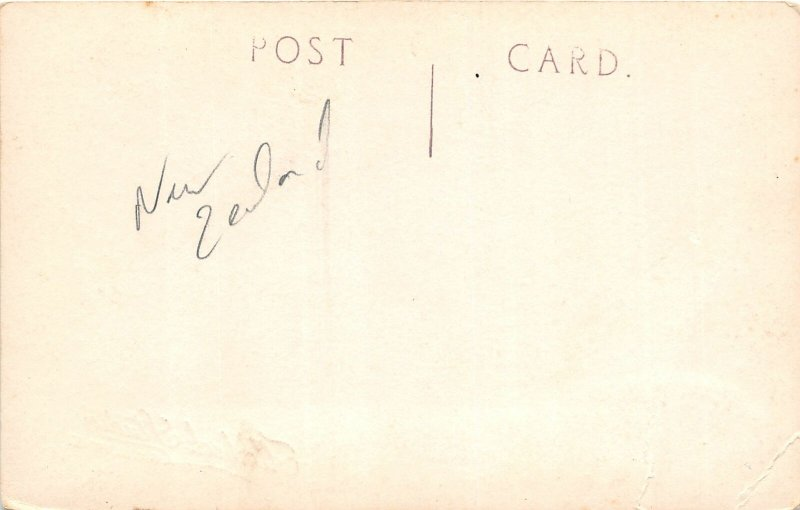 G42/ Foreign RPPC Postcard Gisborne New Zealand c1920s Telegraph Town Hall? C20s