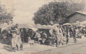CALCUTTA , India , 00-10s ; Native Refreshment stalls near the Jettes