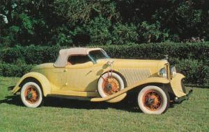 1932 Boat tail Auburn Speedster 8 Cars & Music Of Yesterday Sarasota Florida
