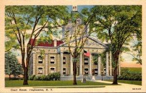 New York Binghamton Court House 1945 Curteich