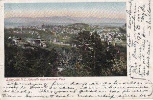 ASHEVILLE, North Carolina, PU-1906; Asheville From Overlook Park