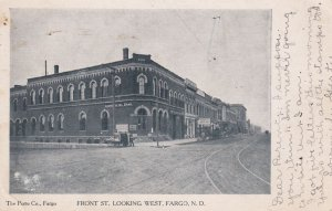 FARGO , North Dakota , PU-00-10s ; Front Street , West
