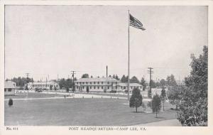 Post Headquarters, Camp Lee, Virginia, 10-20s