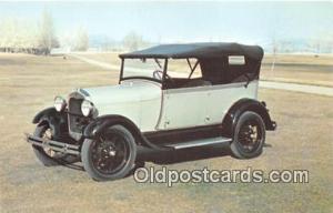1928 Ford Model AR Phaeton Deer Lodge, Montana, USA Auto, Car Unused