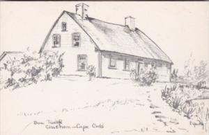 Massachusetts Cape Cod Chatham Bow Roof