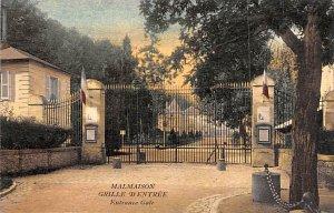 Grille D'Entr»e, Entrance Gate Malmaison France Unused
