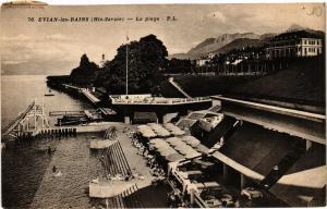 CPA Evian les Bains La Plage (336839)