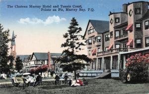 Chateau Murray Hotel, Murray Bay, Quebec, Canada, Early Postcard, Unused