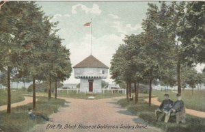 ERIE , Pennsylvania , 00-10s ; Block House at Soldiers & Sailors Home