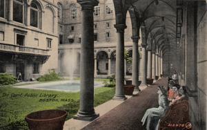 BOSTON, Massachusetts , 00-10s ; The Court, Public Library