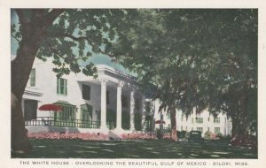 BILOXI, Mississippi, 1910-20s; The White House, Overlooking Gulf of Mexico