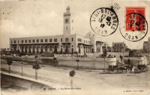 CPA Geiser 93 Oran La Nouvelle Gare ALGERIE (756786)