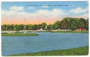 Beautiful Scene,Lake View Park,Hattiesburg,MS,1943