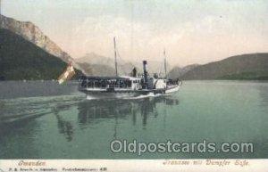 F.E. Brandt in Gmunden Ferry, Ship Unused light corner wear, close to grade 1