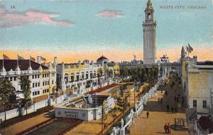 White City, Chicago, Illinois, Early Postcard, Unused
