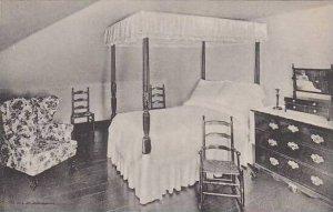 Virginia Mount Vernon Martha Washingtons Bedroom Albertype