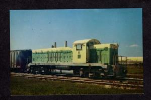 FL L Gardinier Inc Railroad Train Loco 61 East Tampa Florida Postcard PC RR
