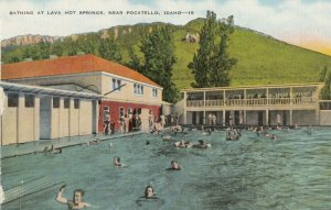 POCATELLO, Idaho , 30-40s ; Lava Hot Springs Swimming Pool