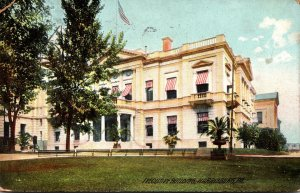 Pennsylvania Harrisburg The Executive Building 1910 Rotograph