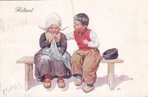 Feiertag : 2 Dutch kids , 1911