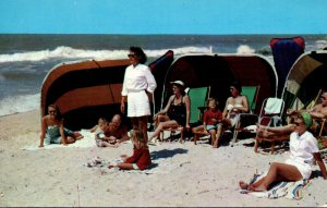 Florida Belleair Belleview Biltmore Private Beach and Cabana Club 1954
