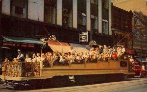 Observation Car, Montreal, Canada Street Scene c1950s Vintage Postcard