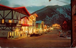 Washington Leavenworth Bavarian Village During Christmas Season