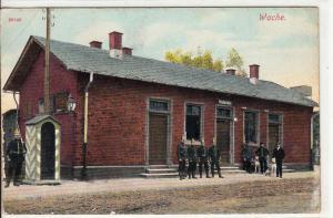 Germany Berlin Wache military barrack 1920 postcard