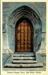 Postcard Entrance Singing Tower Lake Wales Florida Mountain Lake Sanctuary 1703