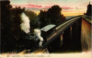 CPA Langres - Chemin de Fer a Cremaillere (270369)