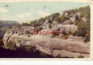 MESA VERDE NATIONAL PARK, CO  HOME OF THE CLIFF DWELLERS, SPRUCE TREE CAMP 1918