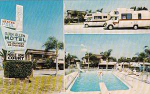 Florida Clearwater Glen Ellen Court Motel & Mobile Home Park