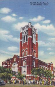 First Methodist Church St Petersburg Florida Curteich
