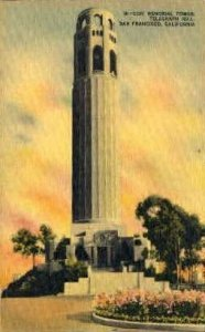 Coit Memorial Tower, Telegraph Hill - San Francisco, CA
