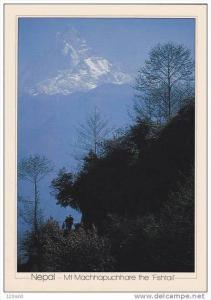 Nepal , Mt Machhapuchhare the Fishtail , 50-70s