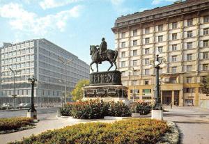 Serbia Beograd Republic Square Statue Monument