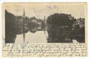 Pawtucket River (Above Falls), Pawtucket, Rhode Island, PU-1906