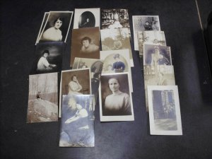 Real People Postcards WOMEN