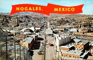 Mexico Nogales International Boundary Fence