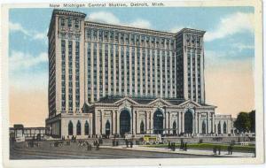 W/B New Michigan Centraql Station Detroit MI