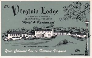 Virginia Alexandria The Virginia Lodge Motel & REstaurant