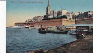 MALTA, 1900-1910´s; Marsamuscetto Landing Place