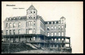 dc1307 - CHICOUTIMI Quebec Postcard 1900s Chateau Saguenay