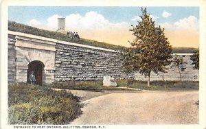 Fort Ontario Oswego, New York