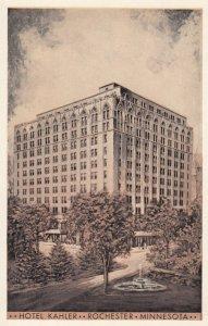 ROCHESTER, Minnesota, 1900-10s; Hotel Kahler, Water Fountain